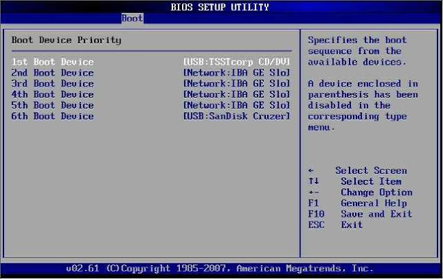 Installing Windows Screenshot