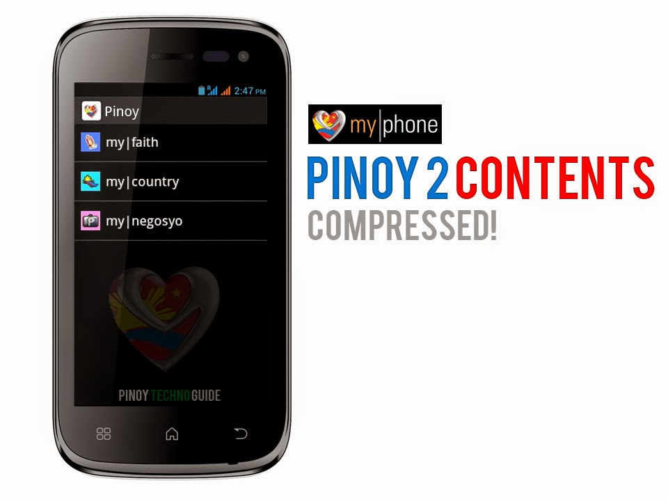 Compressed MyPhone Pinoy 2 Contents
