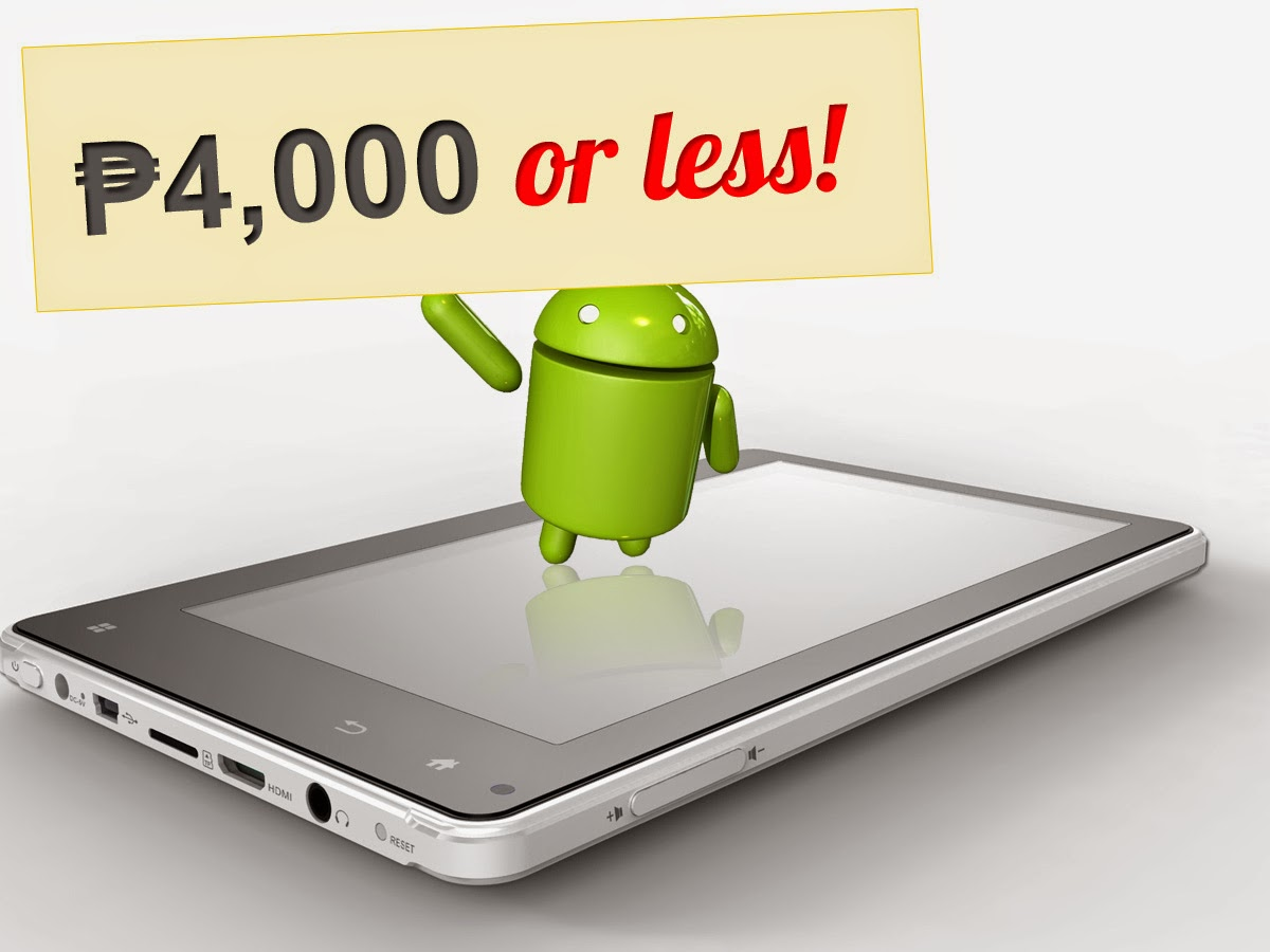 Cheap Android Tablets in the Philippines