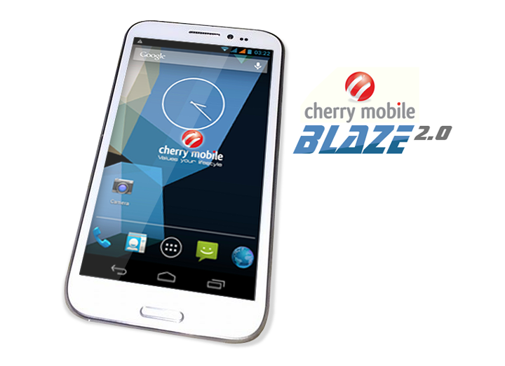 Cherry Mobile Blaze 2.0 Navigation Buttons