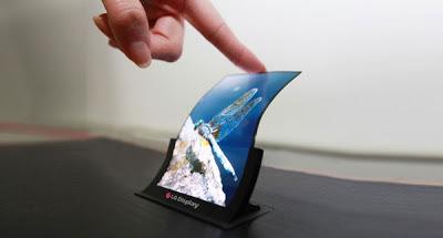 LG Flexible OLED Display