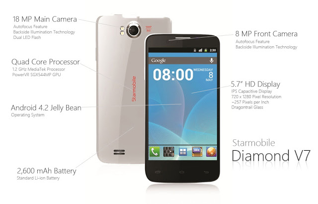 Starmobile-Diamond-V7-Front-and-Back-with-Specs