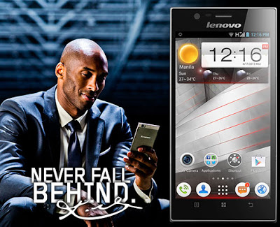 Lenovo K900 with Kobe Bryant