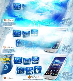 MyPhone Iceberg Teaser Photos
