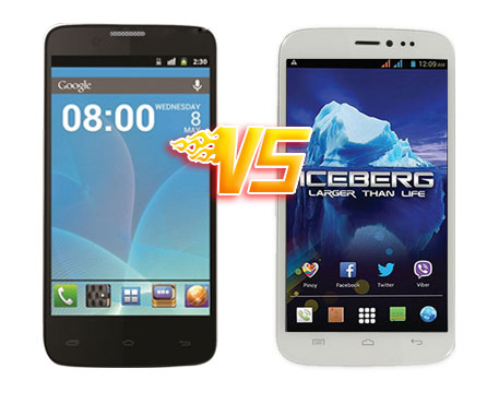 Starmobile Diamond V7 vs MyPhone Iceberg