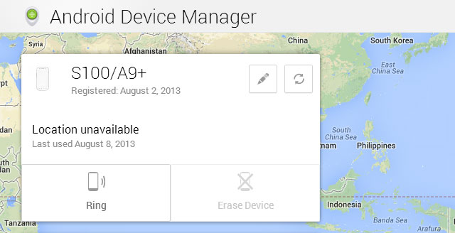 Android-Device-Manager-Interface