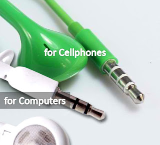 Cellphone Earphones vs Computer Earphones