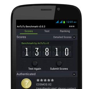 Cherry-Mobile-Cosmos-X2-AnTuTu-Benchmark-Score