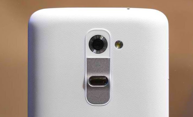 LG G2 Back with Volume Buttons and Camera