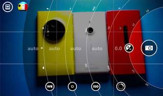 Nokia Smart Camera app interface