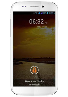 New MyPhone Blow Air to Unlock
