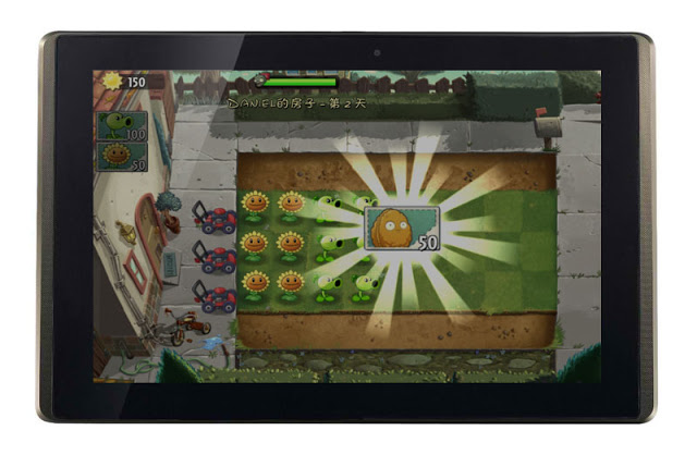 Plants vs Zombies 2 on Android Tablet
