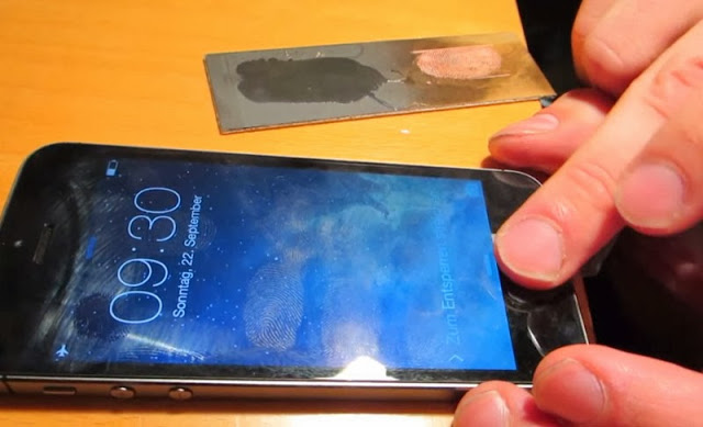 Hacking TouchID finger print sensor of iPhone 5S