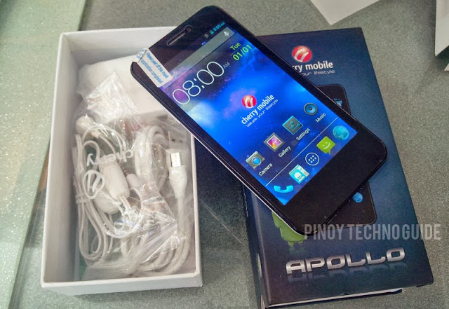 Cherry Mobile Apollo Unbox