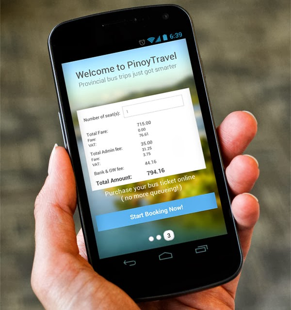 Pinoy Travel Android App