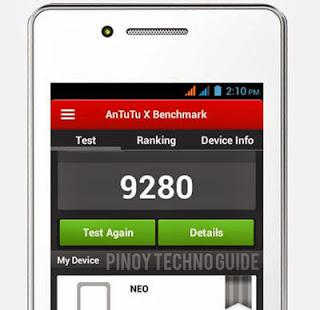 SKK Neo Antutu Benchmark Score