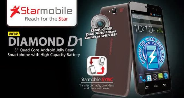 Starmobile Diamond D1