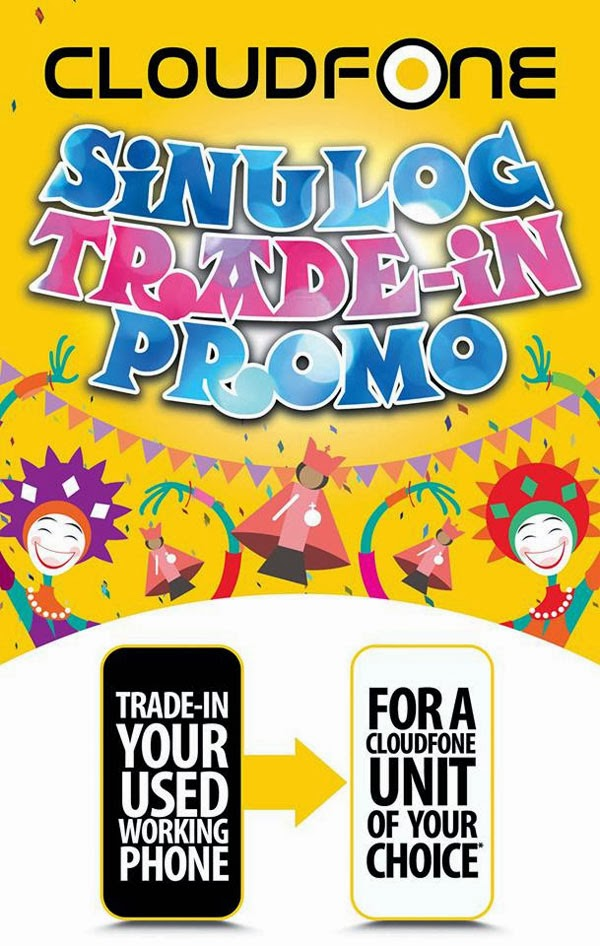 Cloudfone Sinulog Trade-In Promo