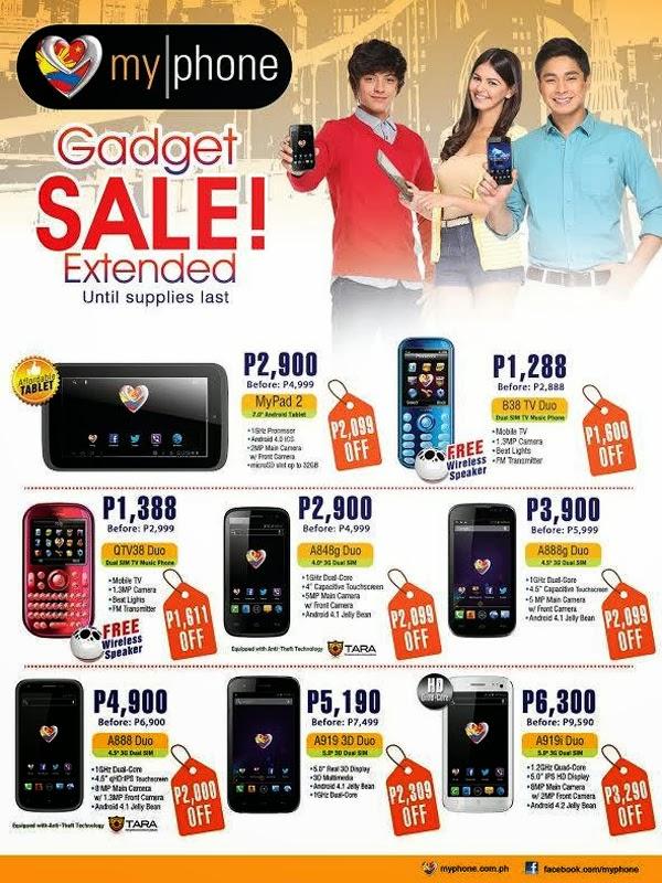 MyPhone Gadget Sale