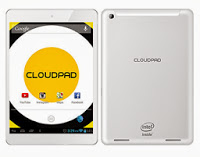 CloudPad 800w 'Intel Powered Tablet with 32 GB Storage' Specs, Price and Features
