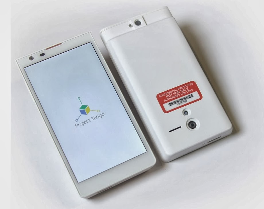 Google's Project Tango: Smartphone with 3D Sensors