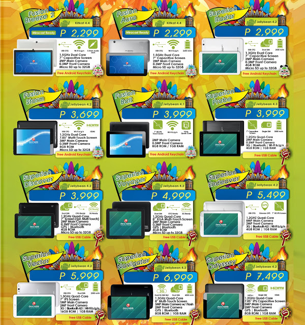 12 new cherry mobile tablets for 2014 pinoy techno guide for O tablet price list 2014