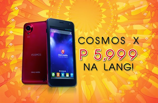 Cherry-Mobile-Cosmos-X-Huge-Discount