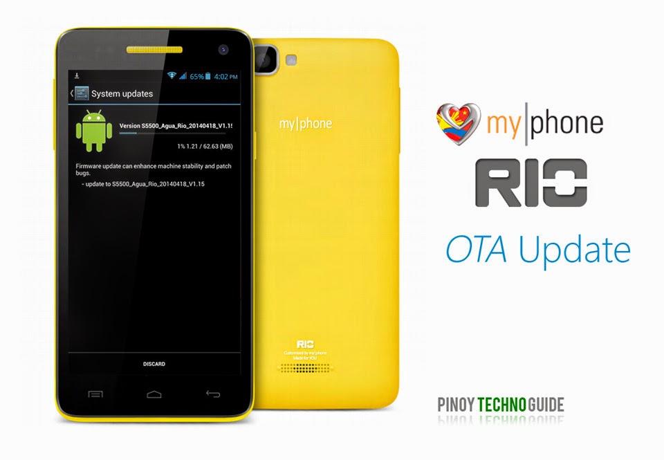 MyPhone RIO OTA Update