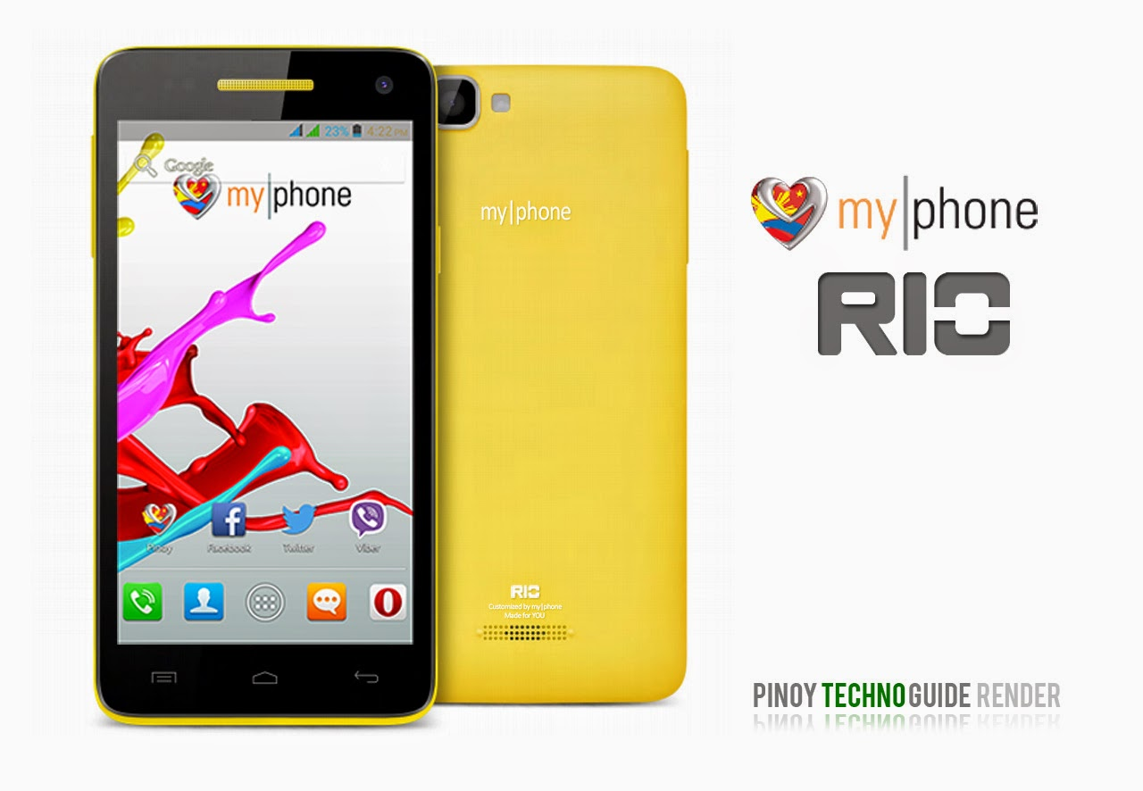 5660eefa7 MyPhone Rio Specs  Quad Core with 5-Inch HD Display