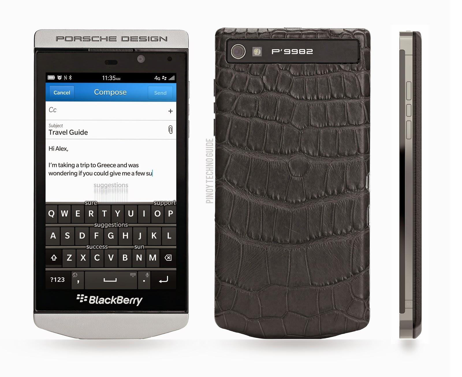 Телефон блэкберри порше дизайн цена
