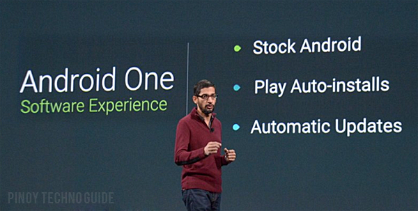 Sundar Pichai for Android One