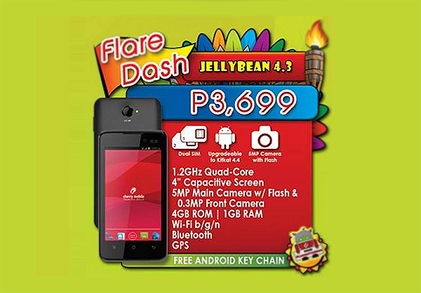 Cherry Mobile Flare Dash Specs