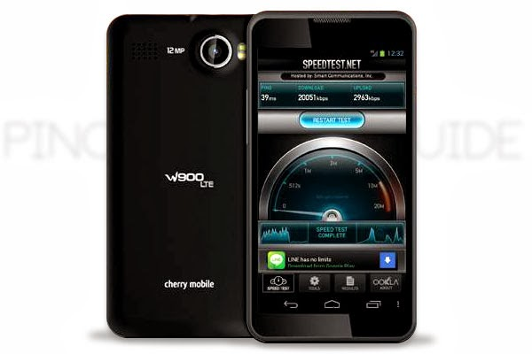 Cherry Mobile W900 LTE - Cheap LTE Smartphone in the Philippines