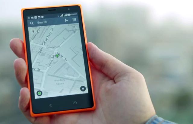 Nokia X2 Here Maps