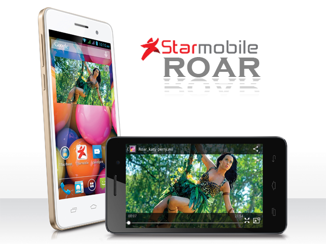 Starmobile Roar with Katy Perry