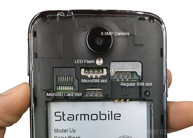 Starmobile Up '5-Inch Quad Core Phone with Android 4 4
