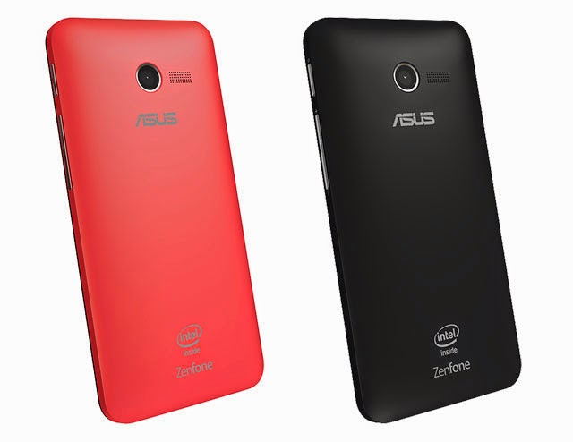 Asus Zenfone 4 Back Red and Black