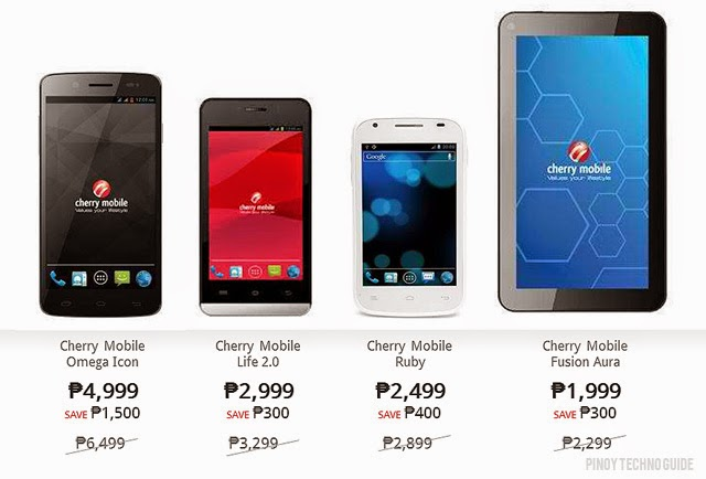 Cherry Mobile Big Discounts