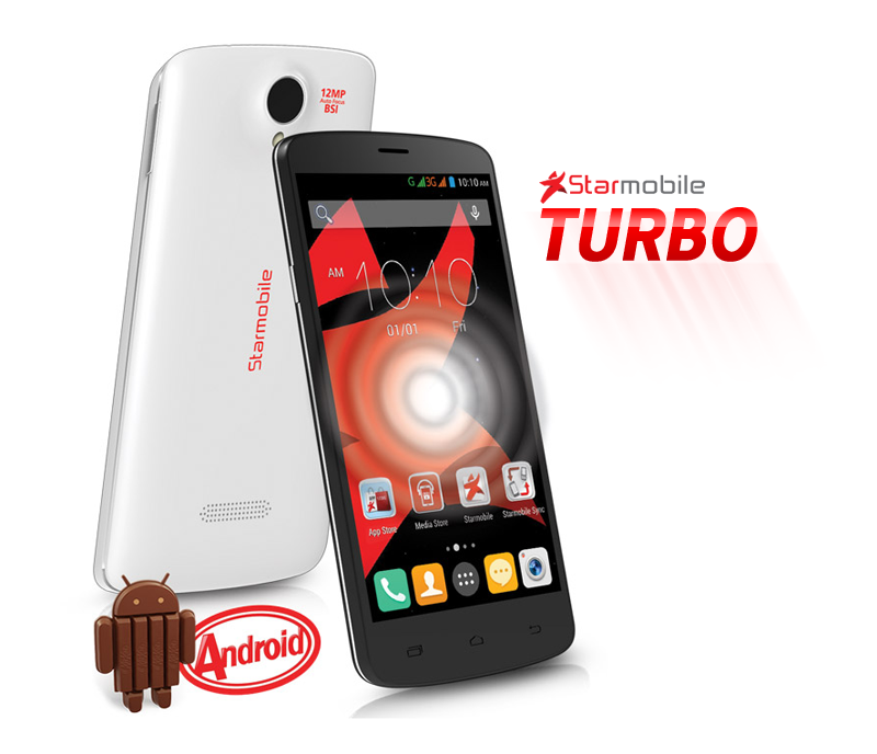 Starmobile Turbo – Quad Core Android Kitkat Smartphone with Scratch ...