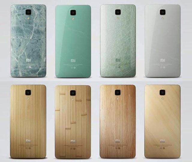 Xiaomi Mi 4 Back Cover Styles