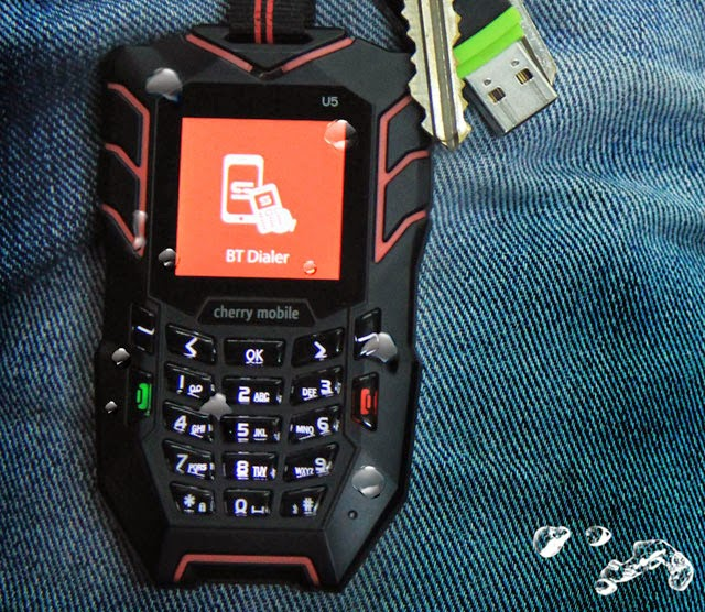 promo code 4c04d 0c561 Cherry Mobile U5 – Waterproof Phone and Remote Dialer for ₱2,199 ...
