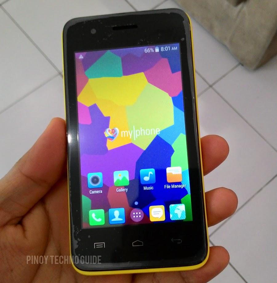 MyPhone Rio Craze hands on