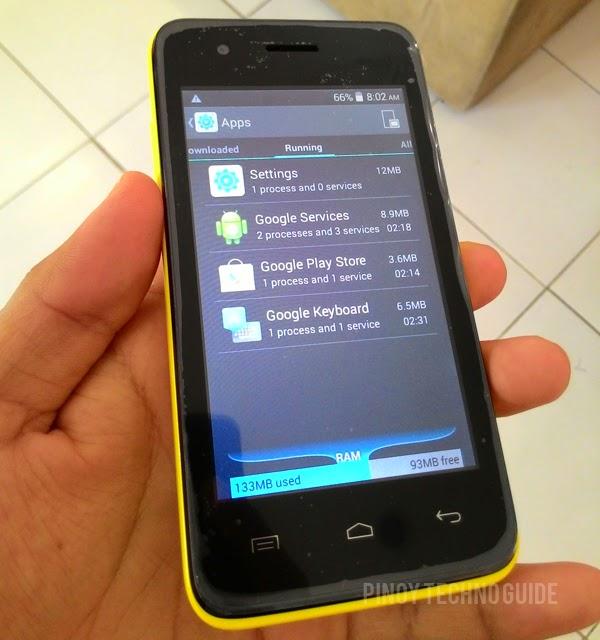 MyPhone Rio Craze RAM