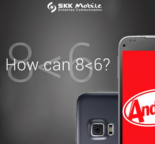 SKK Teases an Octa Core Smartphone for Less than ₱6,000 with Android 4.4 Kitkat