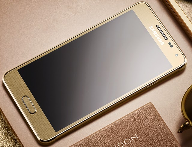 Samsung Galaxy Alpha - Gold