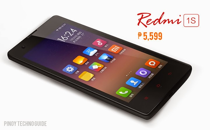 Xiaomi Redmi 1S Officially Priced ₱5,599 in the ...