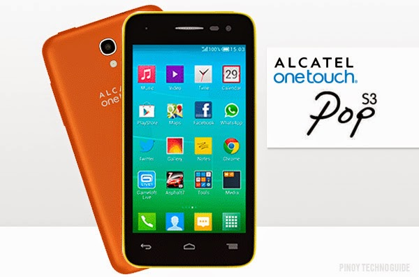 Alcatel OneTouch Pop S3 with 4G LTE for ₱6,999 Now Official