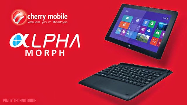 Cherry Mobile Alpha Morph Keyboard dock