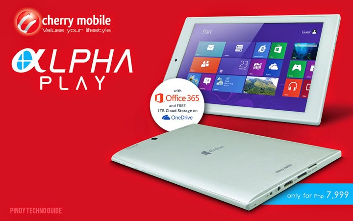 Cherry Mobile Alpha Play Windows 8.1 Tablet