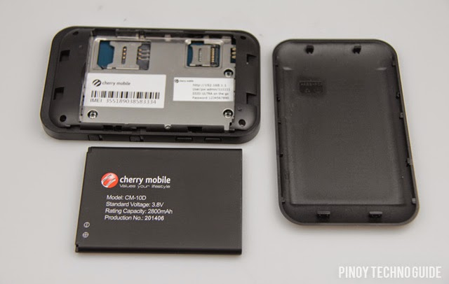 Cherry Mobile Ultra On the Go SIM and Battery